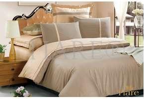 Комплект постельного белья Viluta Жаккард Тиаре 17, 100% хлопок, размер евро
