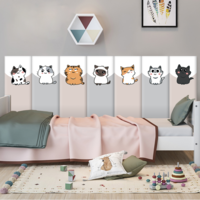 М`яка 3D панель колекція Funny Cats розмір 50х20 см