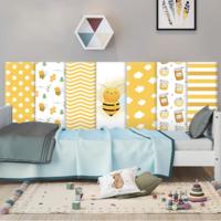 М`яка 3D панель колекція Happy Bee розмір 50х20 см