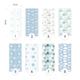 Мягкая 3D панель коллекция In Blue размер 50х20 см
