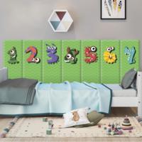 М`яка 3D панель колекція Monster Number розмір 50х20 см