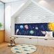 Мягкая 3D панель коллекция Space размер 50х20 см.