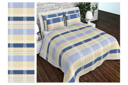 Комплект постельного белья Altex, бязь, размер евро арт. UXT-634-1-BLUE