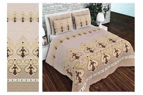 Комплект постельного белья Altex, бязь, размер евро арт. UXT-671-Brown