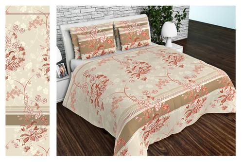 Комплект постельного белья Altex, бязь, размер евро арт. UXT-672-2-BEIGE