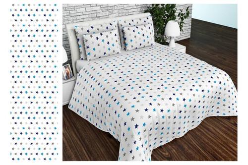 Комплект постельного белья Altex, бязь, размер евро арт. UXT-694-BLUE