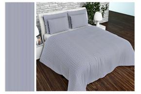 Комплект постельного белья Altex, бязь, размер евро арт. UXT-702-1-BLUE