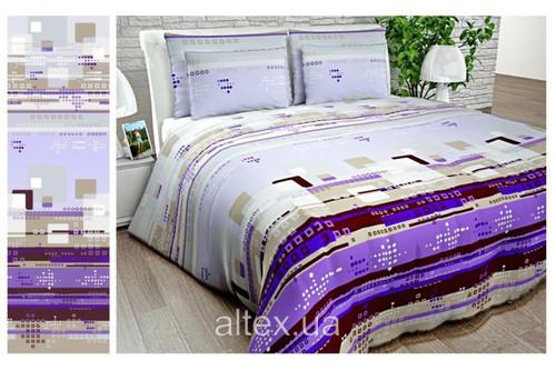 Бязь Gold UXT-457-2 purple рулон 50 м