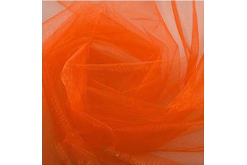 Фатин оранжевый рулон 50 м