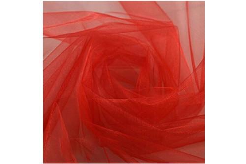 Фатин красный рулон 50 м
