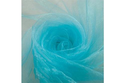 Фатин голубой рулон 50 м