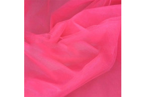 Фатин неон розовый рулон 50 м