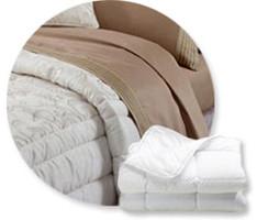 Одеяла, Наполнитель: пух