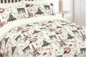 Комплект постельного белья Viluta Ранфорс 12599, 100% хлопок, размер двуспальный