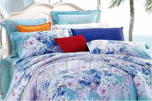 Комплект постельного белья Viluta Ранфорс 17103, 100% хлопок, размер полуторный