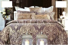 Комплект постельного белья Viluta Ранфорс 17108, 100% хлопок, размер полуторный