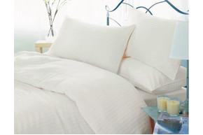 Комплект постельного белья Altex, бязь 100% хлопок, размер евро арт. Premium hotel