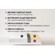 Беспружинный ортопедический матрас Point Art серия Ideal Memory 90x200 см
