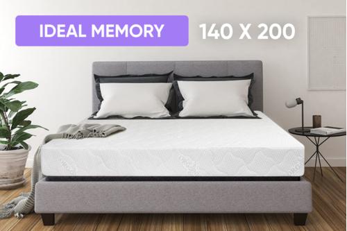 Беспружинный ортопедический матрас Point Art серия Ideal Memory 140x200 см