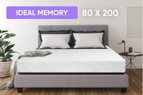 Беспружинный ортопедический матрас Point Art серия Ideal Memory 80x200 см