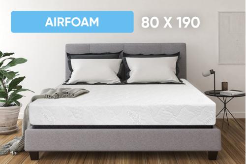 Беспружинный ортопедический матрас Point Art серия AirFoam 80x190 см