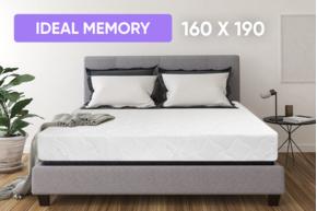 Беспружинный матрас Point Art 160x190 см серия Ideal Memory