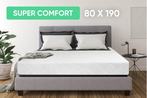 Беспружинный ортопедический матрас Point Art серия Super Comfort 80x190 см