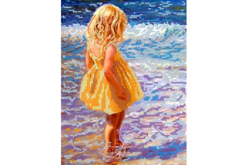 Набор для вышивки бисером POINT ART Дочь, размер 19х25 см, арт. 1290