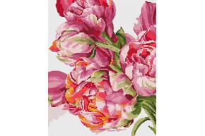 Набор для вышивки бисером POINT ART Яркие цветы размер 24х30 см арт. 1850
