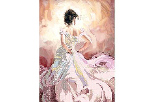 Набор для вышивки бисером POINT ART Невеста размер 25х34 см арт. 1890