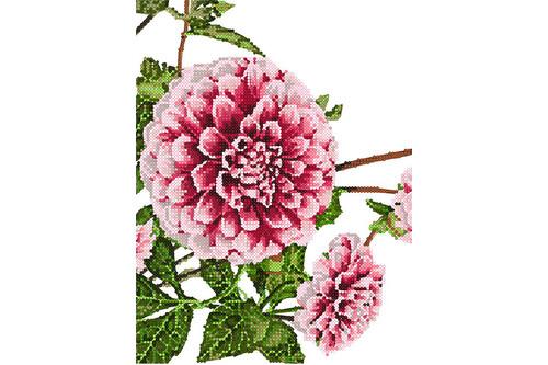 Набор для вышивки бисером POINT ART Любимые цветыНабор размер 19х25 см арт. 1973