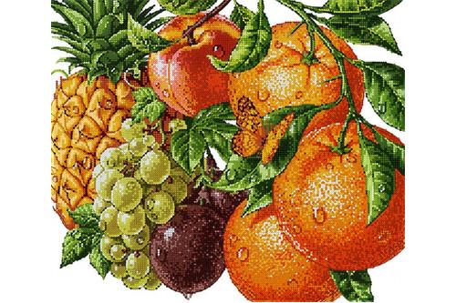 Набор для вышивки бисером POINT ART Тропические фрукты размер 36х31 см арт. 1985
