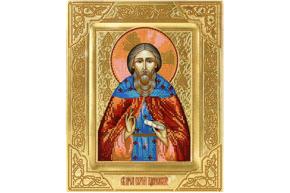 Схема для вышивки бисером POINT ART  Сергий Радонежский, размер 23х28 см, арт. 1305