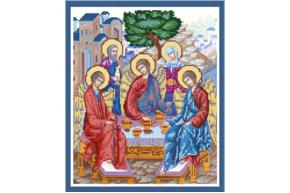 """Схема для вышивки бисером POINT ART """"Святая Троица"""", размер 30х36 см, арт. 1594"""