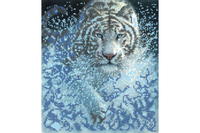 Набор для вышивки бисером POINT ART Тигр, размер 22х25 см, арт.1409