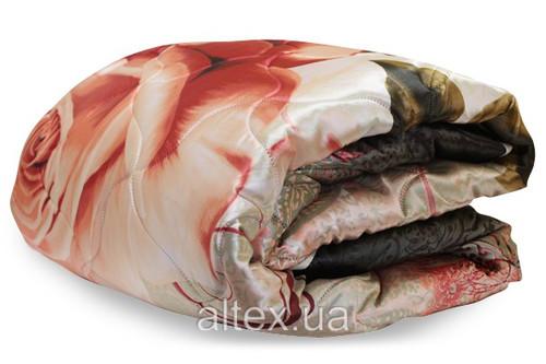 Одеяло силиконовое с кантом, размер 150х215 см, полуторное