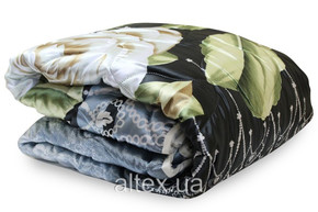 Одеяло силиконовое с кантом, размер 180х215 см, двуспальное