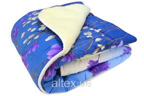 Одеяло меховое стеганое Астра, размер 200х215 см, евро