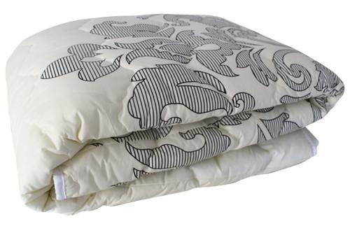 Одеяло меховое стеганое, E-51, размер 180х215 см, двуспальное