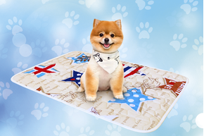 Многоразовая пеленка для собак AquaStop арт.6, размер 60х90 см