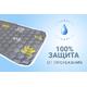 Многоразовая пеленка для собак AquaStop арт. 9, размер 60х90 см