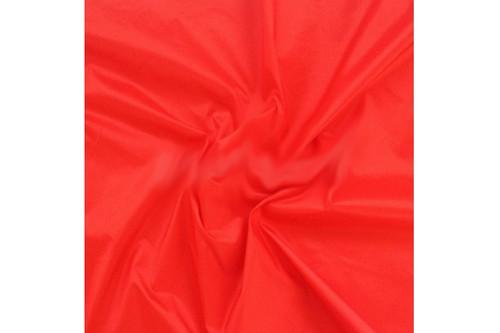 Плащевка Лаке ярко-красный рулон 50 м
