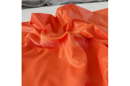 Плащевка Лаке оранжевый рулон 50 м