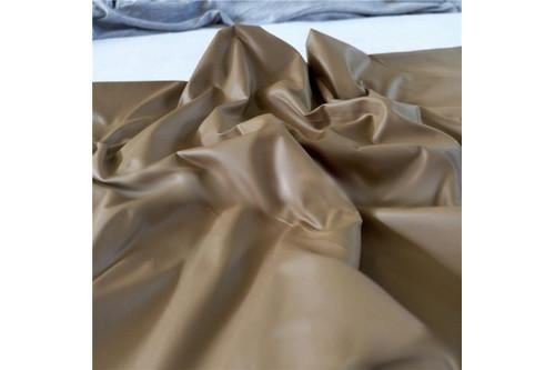 Плащевка Лаке коричневый рулон 50 м