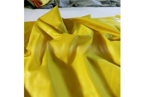 Плащевка Лаке желтый рулон 50 м