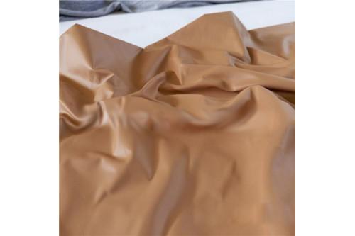 Плащевка Лаке светло-коричневый рулон 50 м