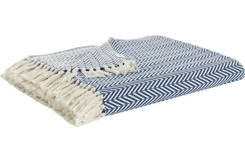 Плед-накидка Buldans - Ritim mavi cиний 130x170
