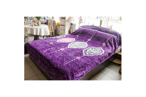 Плед Karaca Home - Buena фиолетовое 220*240 евро