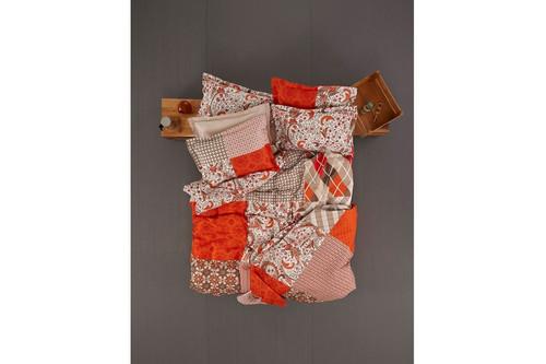 Плед Karaca Home - Vera оранжевый 200x220 евро