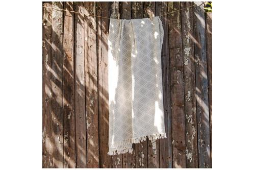 Плед-накидка Barine - Diamond Throw grey серый 130x170